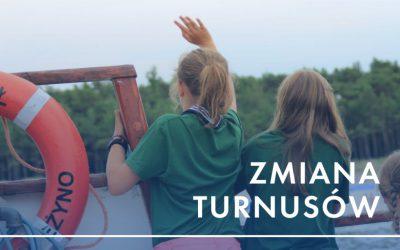 Turnus I wczoraj szczęśliwie wrócił do Andrychowa, a już dziś wyjechał do Mrzeżyna turnus II!