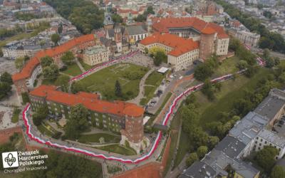 Rekord Polski na najdłuższą flagę państwową