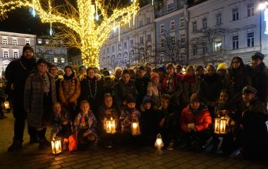 Betlejemskie Światło Pokoju jest już w Andrychowie!