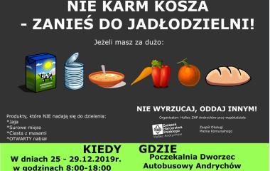 """48 DW """"Północ"""" organizuje w Andrychowie jadłodzielnię"""