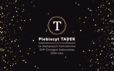Zgłoś swojego kandydata w Plebiscycie TADEK 2019