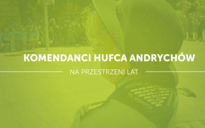 Komendanci Hufca ZHP Andrychów na przestrzeni lat